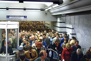 Пассажиропотоки метро работают на Вас